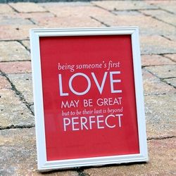 A Love Quotable (Quote that's Printable) by Blush Printables via Heart Love Weddings