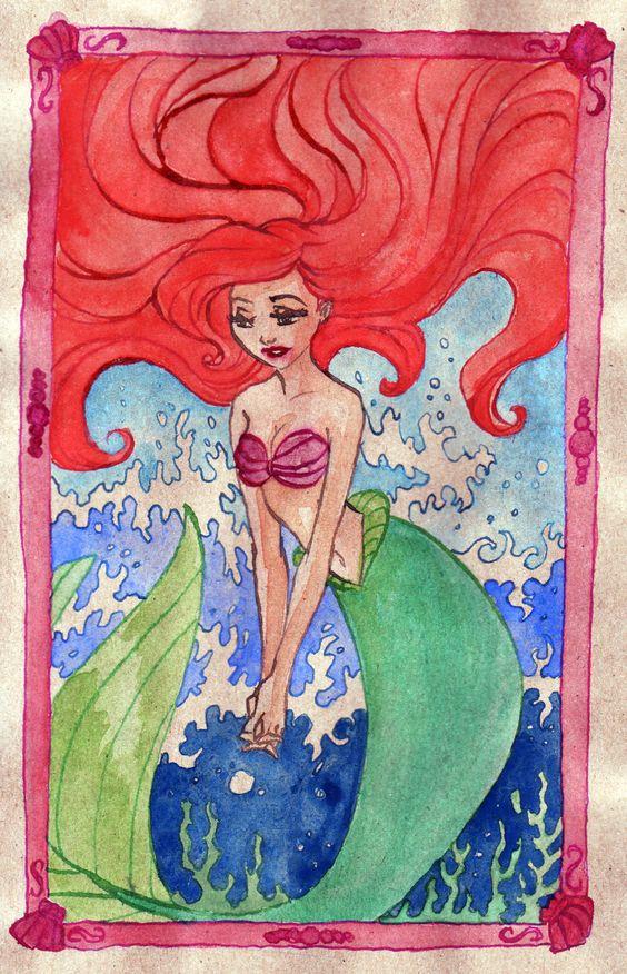 Mermaid's wish by ~TaijaVigilia on deviantART (Ariel)