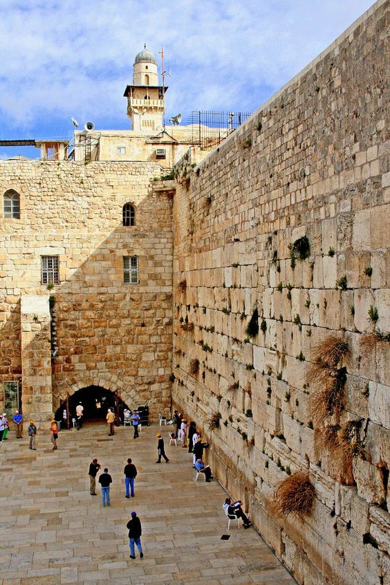 December 6, 2017: The Western Wall aka Kotel in Old City of Jerusalem. Today will go down as a most momentous day in the history of Modern Israel . Pres. Trump declares that the US officially recognizes Jerusalem as the capital of Israel and expresses plans for the relocation of the US Embassy from Tel Aviv to Jerusalem .
