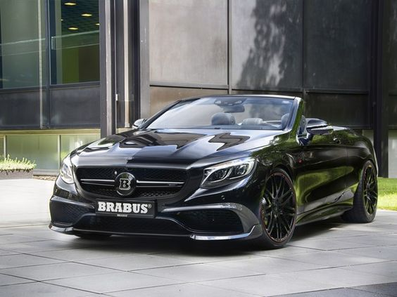 S63 Brabus 850 Cabrio custa R$ 2,9 milhões no Brasil (Foto: Divulgação)