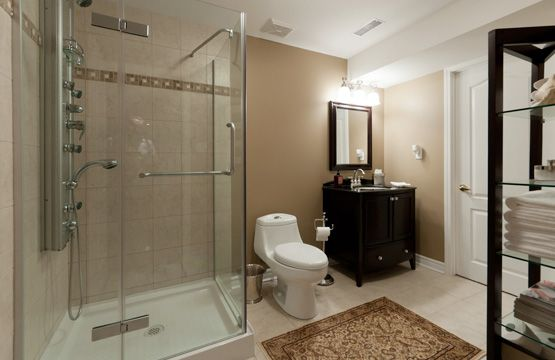 Pictures Of Finished Bathrooms Basement Bathroom With Shower ~  Http://makerland/basement