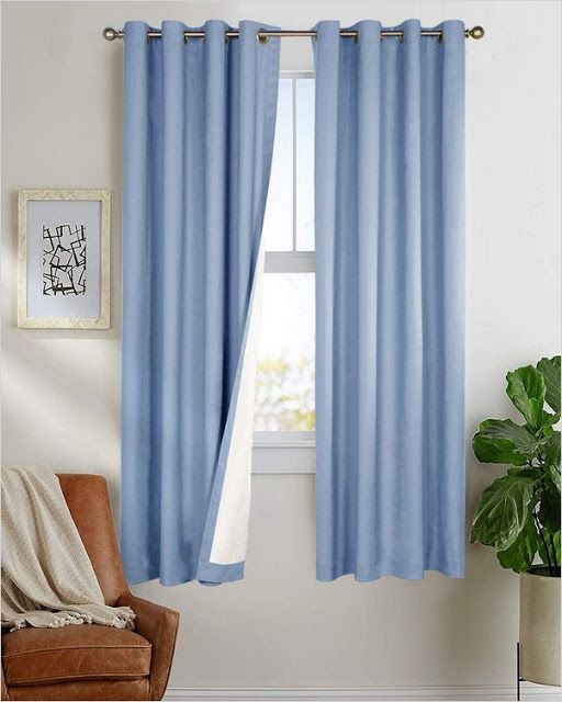 Blackout Curtains 63 Inches Long In 2020 Curtains Insulated Curtains Blackout Curtains
