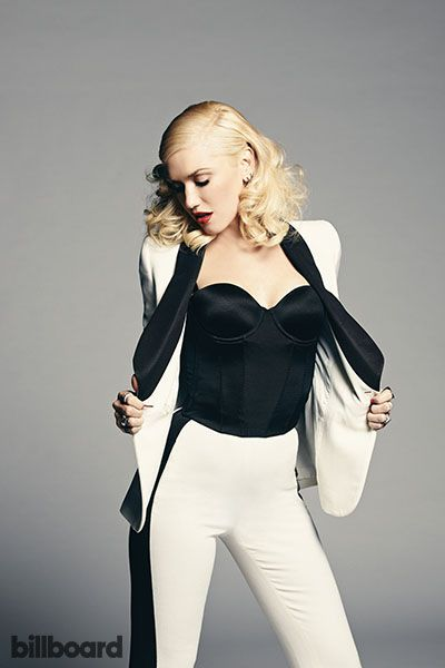 NBC's The Voice Judges' Billboard Photo Shoot // Gwen Stefani