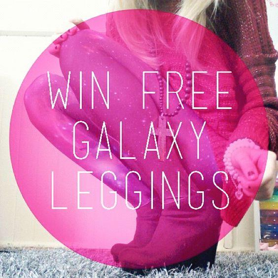 Enter To Win Free Galaxy Leggings