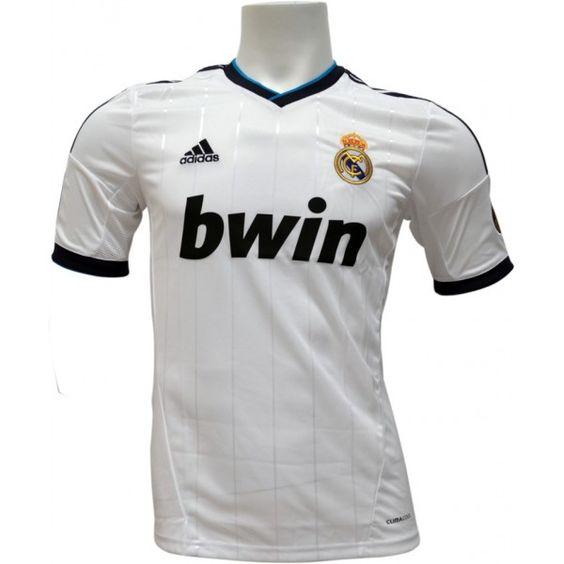 Camiseta oficial del real madrid para la temporada 2012-2013
