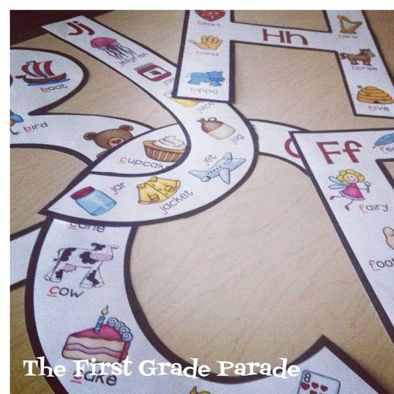 Alphabet Anchor Charts. . First Grade Parade