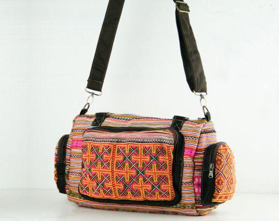 Gypsy Ethnic Tribal Duffle Bag