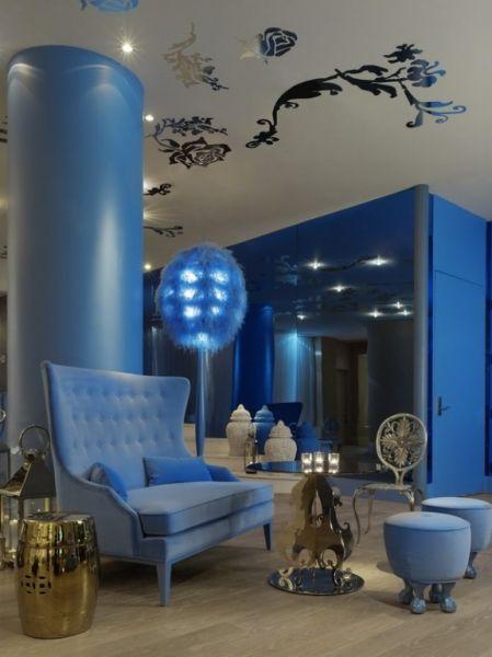 Mondrian Soho, New York  Morgans Hotel Group, New York  BNO Design, New York  Photo: Bruce Damonte