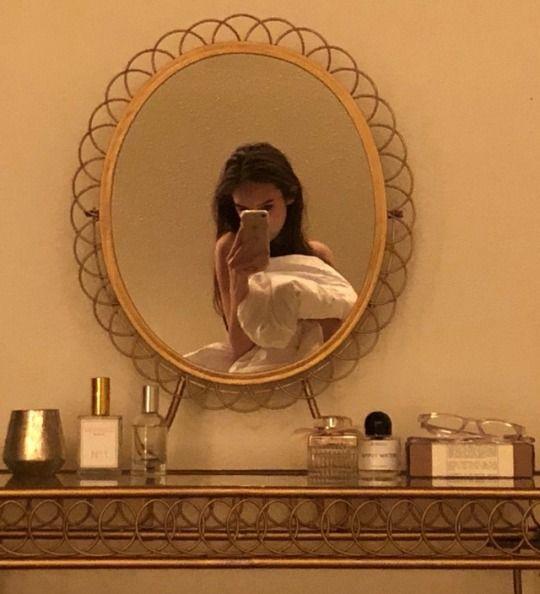 Fotos en el espejo aesthetic