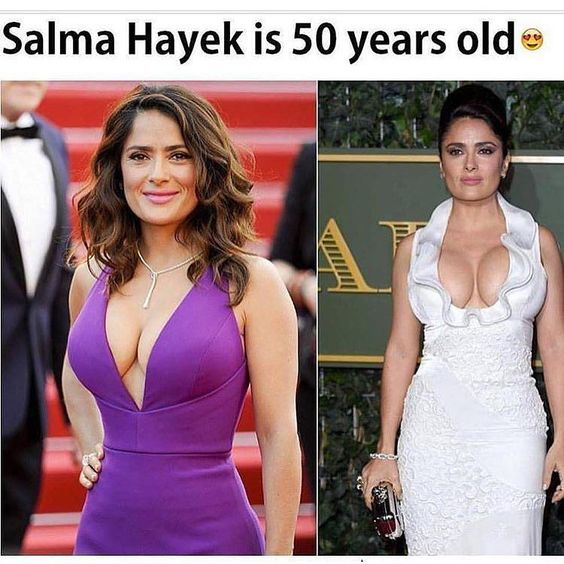 Wow let's just take a minute to appreciate how good #selma looks  #incredible tag a hot 50yr old if you know one