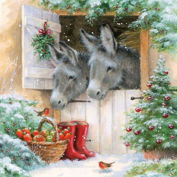 Servilletas a algo más - Colección Navidad