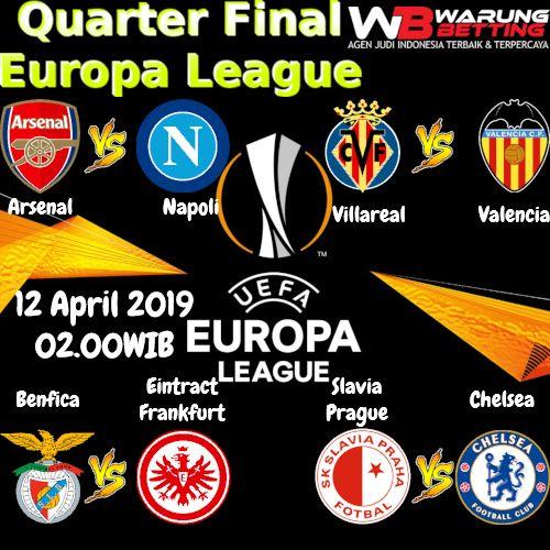Jadwal Pertandingan Europa League 2018 19 Leg Pertama Beritaboladunia Beritabolaterkini Ligachampions Asiabola123 J League Napoli