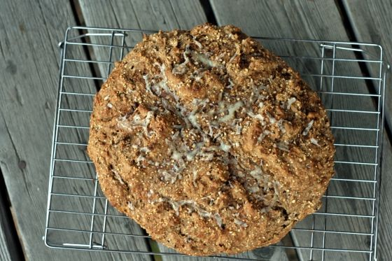 Barley soda bread with Guinness, apples and cheddar | To Knead or Not ...