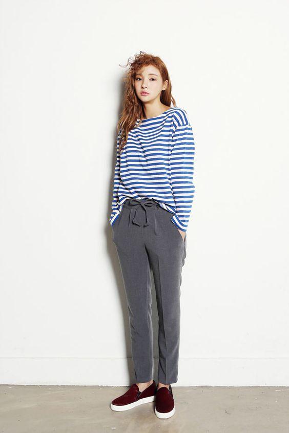 Boater Stripe Top