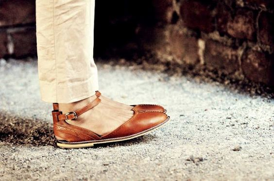 cute leather shoes