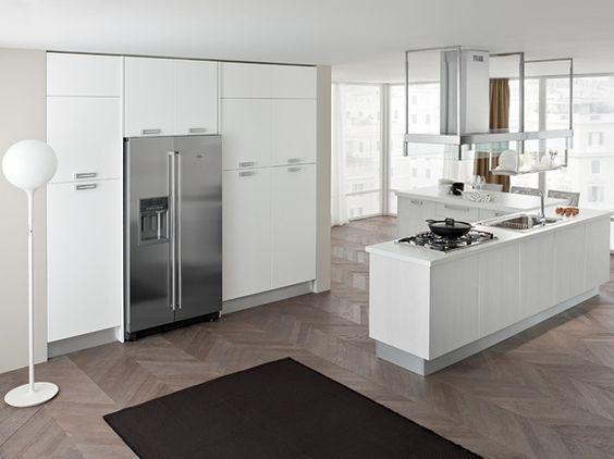 Cucina moderna con isola angolare arredissima cucine - Isola cucina moderna ...
