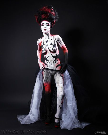 Body Painting Academy Final 2011/12 by Ophelia C