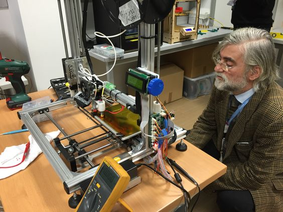 Software Giant NTT Data Is Testing Internal 3D Printing Makerspaces.  ntt meazza
