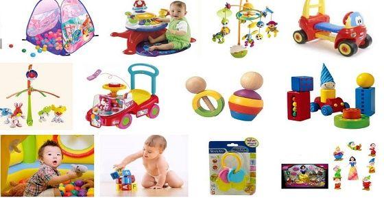 Chọn đồ chơi cho bé yêu trong những ngày đầu tiên