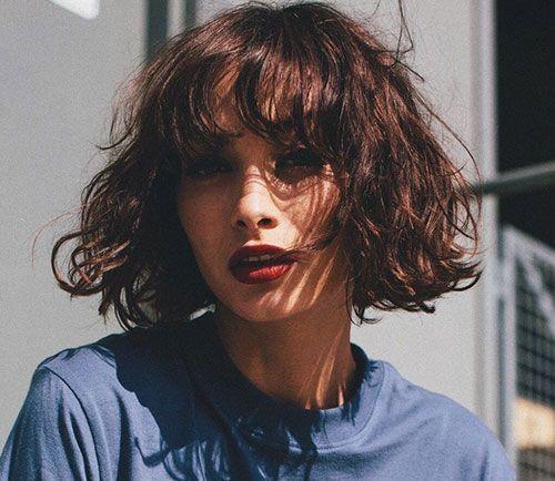 Curlyhairstyles In 2020 Short Wavy Hair Short Wavy Thick Hair Styles
