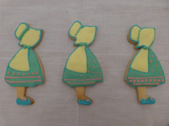 galletas con glasa: Caperucitas
