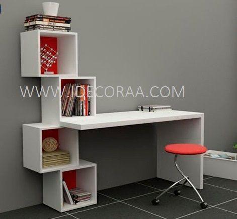 Repisa escritorio pinterest for Mueble de 5 repisas