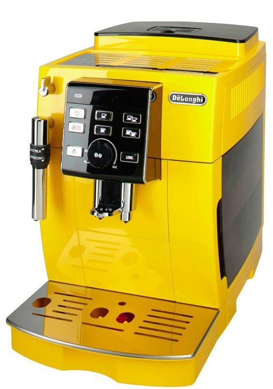 delonghi kaffeevollautomat »ecam 25.128.y gelb: amazon.de: küche
