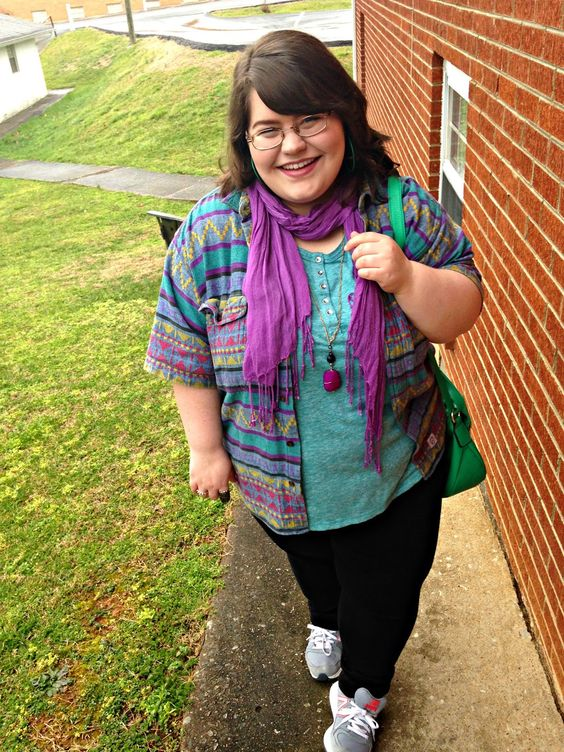 Unique Geek: Plus Size OOTD: Sad, But Back: