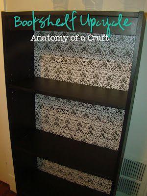 DIY Bookshelf Upcycle