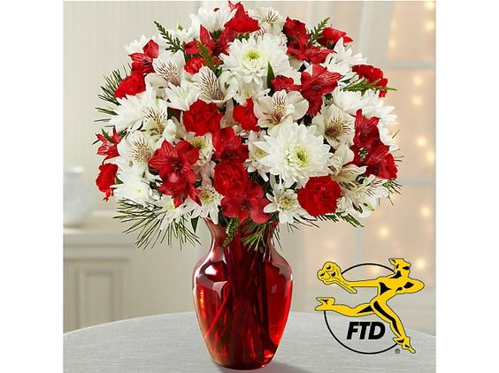 Joy to the World Holiday Bouquet $19.99 (ftd.com) - (http://bit.ly/1TXHQJo)