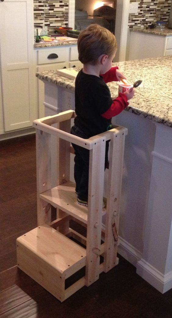 Child S Step Stool Kitchen Height
