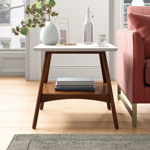 Posner Trestle Coffee Table In 2020 End Tables With Storage End Tables Coffee Table With Storage
