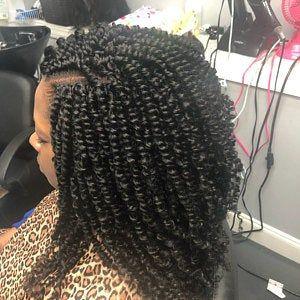 5 Bundles Of Reusable Medium Hand Twisted Pre Twisted Crochet Etsy Hair Styles Curly Hair Styles Twist Braids