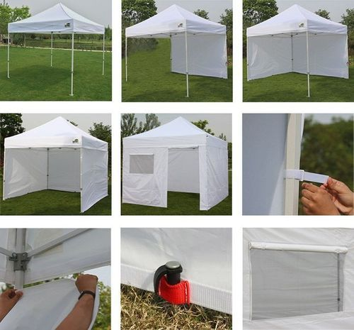 Eurmax 10 X 10 Instant Canopy With Sidewalls Instant Canopy Pop Up Canopy Tent Canopy Tent