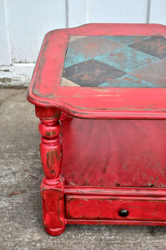 rustic furniture painted furniture rustic furniture painted tables red