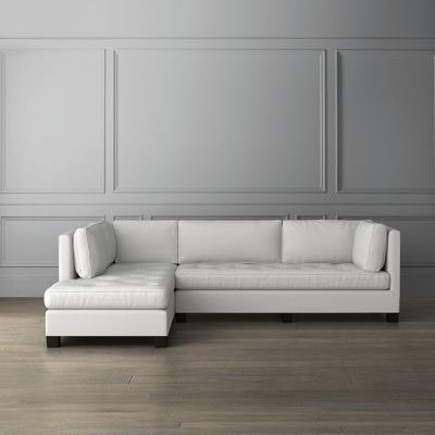 Wilshire L Shape Chaise Sectional Left Williamssonoma L Shaped Sofa Sectional Luxury Home Furniture