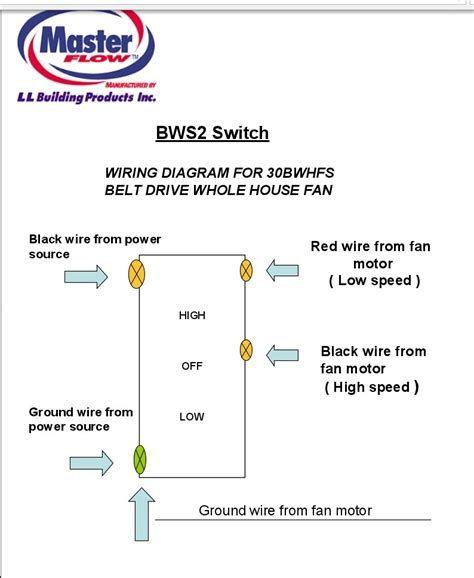 Bws2 Wiring Diagram Google Search Whole House Fan Attic Fan Fan Motor