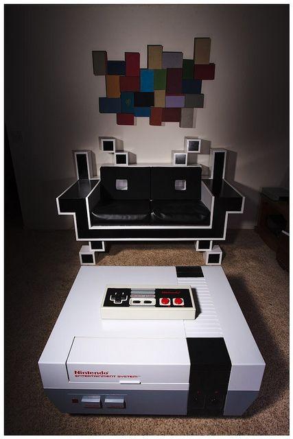 Video Game Furniture by Matt Cyborgelt