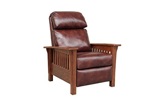 Barcalounger Mission 7 3323 Craftsman All Leather Push Https Www Amazon Com Dp B07c79pgm1 R Recliner Chair Manual Recliner Chair Leather Recliner Chair