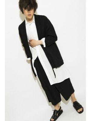 Linen / Viscose Farm clothes Jacket 詳細画像