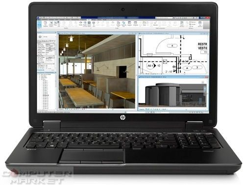 Купи онлайн Лаптоп HP ZBook, Intel Core i7-4710MQ 2.50 GHz, 15.6