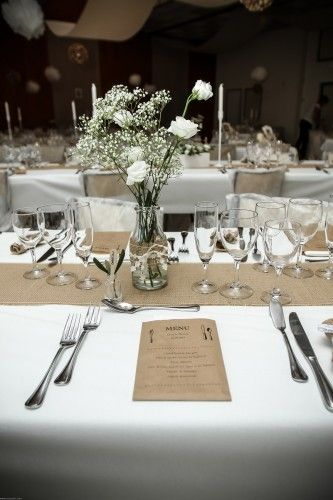 Coureurs lille and tables on pinterest - Deco champetre mariage ...