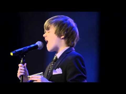 Joshua King, age 12, sings 'Precious Lord, Take My Hand'