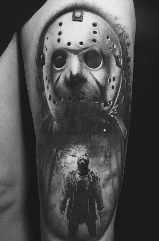 Pin By Leroy Taylor On Body Art Movie Tattoos Horror Tattoo