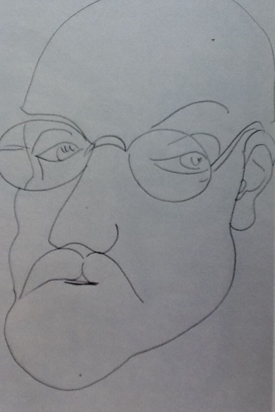henri matisse - selbstportrait