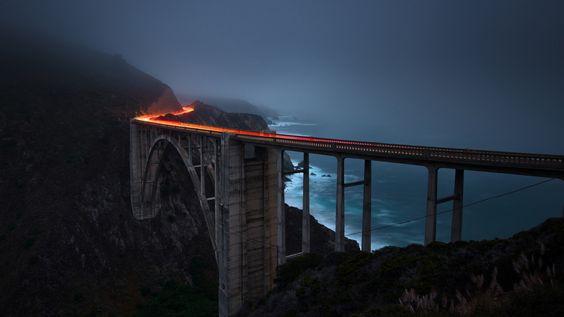 papel de parede surpreendente, ponte