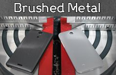 At just .1 millimeter in thickness, the protective skin was engineered to withstand scratches, nicks and scrapes, without adding unnecessary bulk. Featuring a semi-shiny metallic look that not only appears like it's made from real metal, but is also texturally identical to actual brushed aluminum.