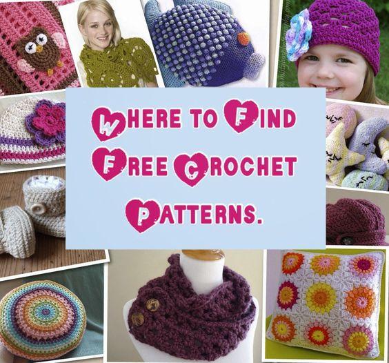 Free Crochet Patterns Directory : Tampa Bay Crochet: Where to Find Free Crochet Patterns ...