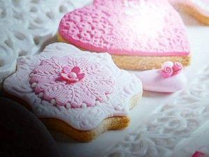 biscotti ricetta  - con acqua di rose