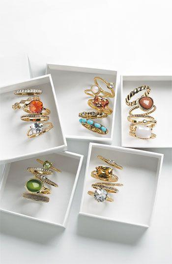 Ariella Stackable Rings